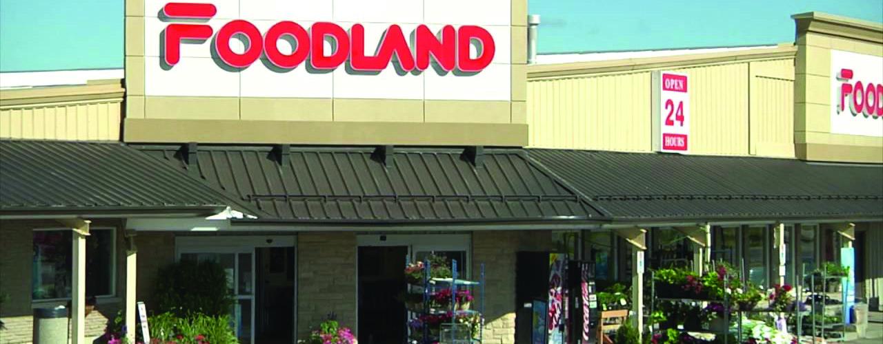 Exterior shot of Foodland