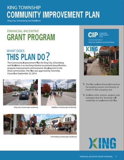 Community Improvement Brochure