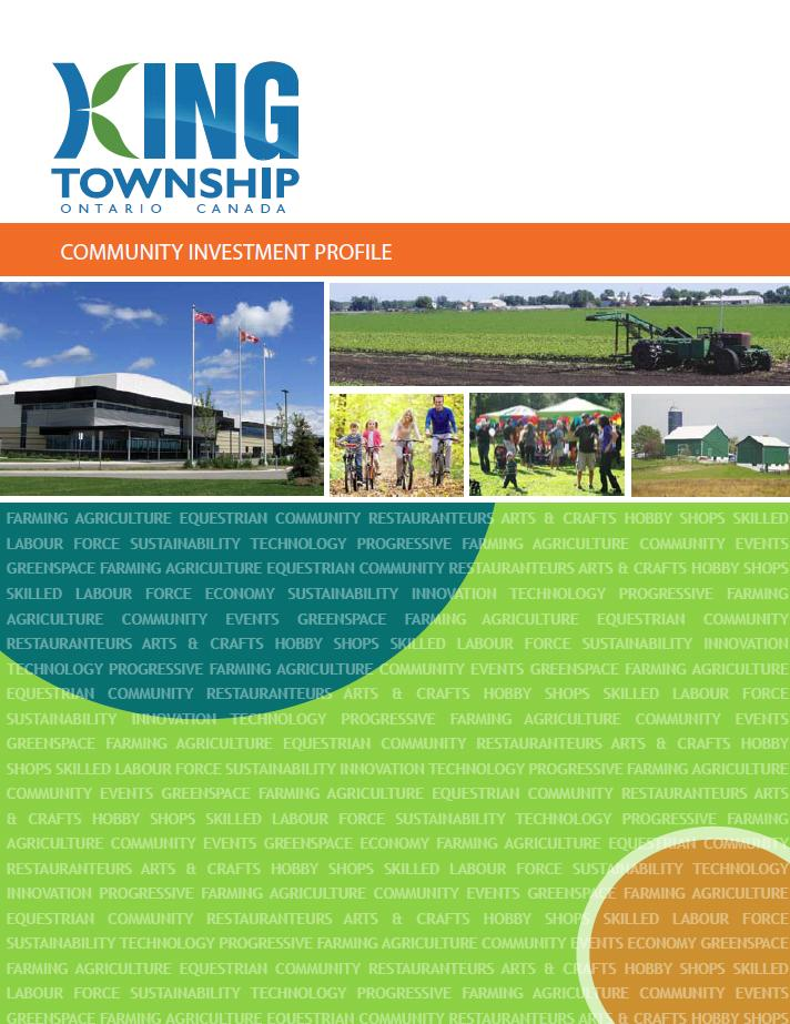 Community Investment profile cover page