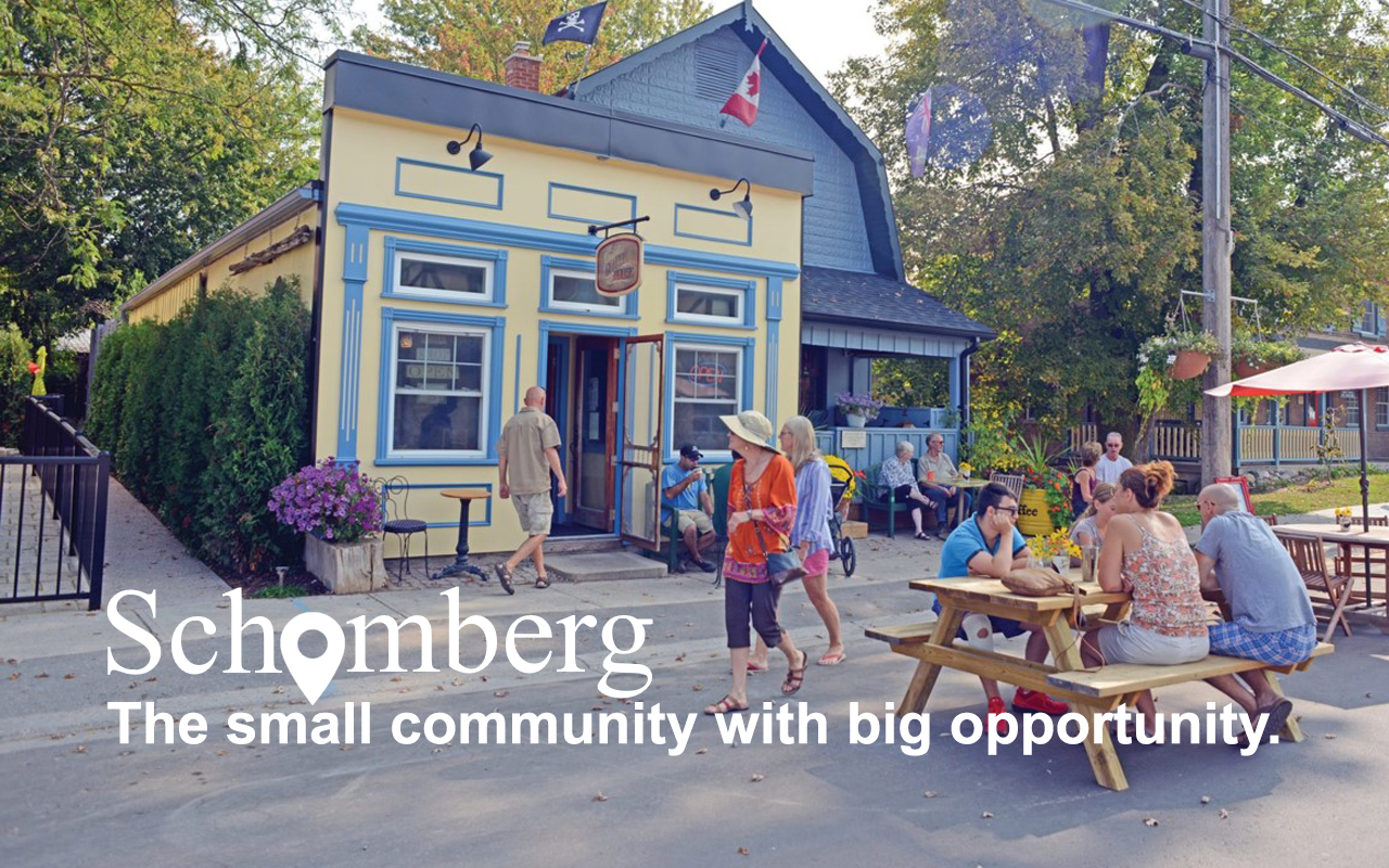 The small community with big opportunity