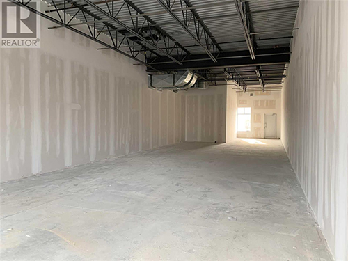 interior shell of retail unit for sale