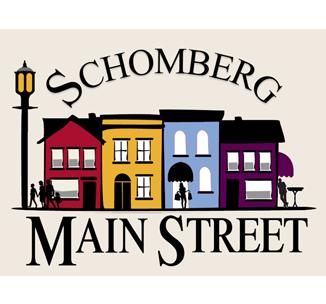 Schomberg Main Street Revitalization Logo for menu