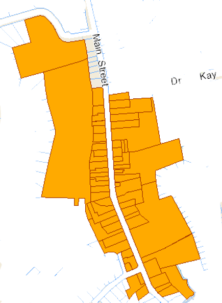 Schomberg Revitalization Project Map of Subject Properties