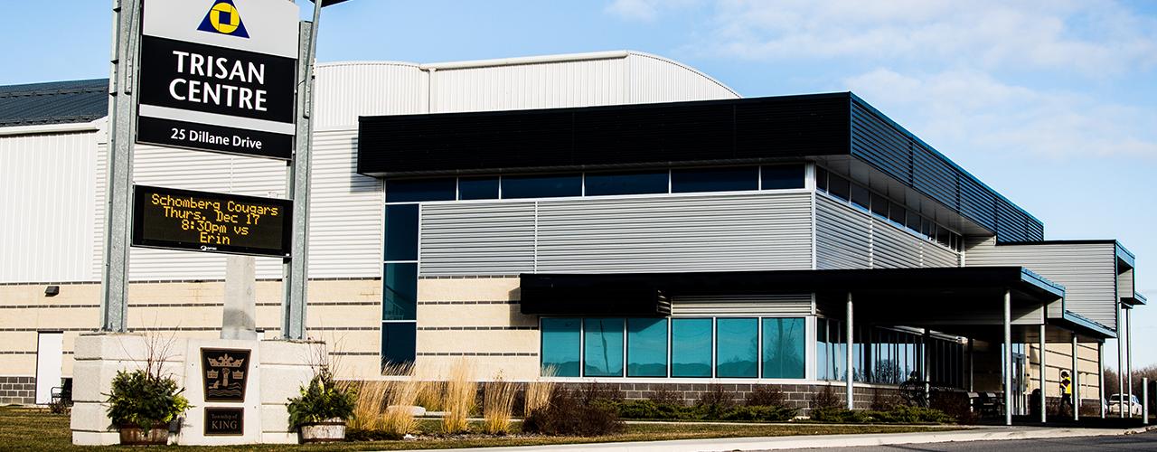Exterior shot of Trisan centre