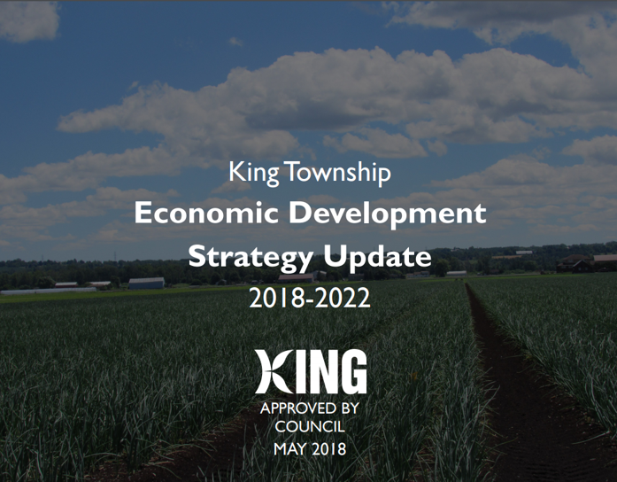 Economic Development Strategy Update 2018 - 2022 Report cover page